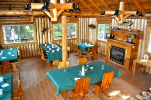 The main lodge is nothing short of spectacular.